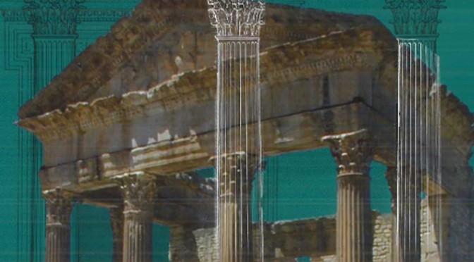 Présentation du livre : Dougga, étude d'architecture religieuse 2, par Jean-Claude Golvin (Ausonius) et les membres d'AOROC